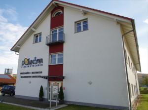 Domhöfer Firmengebäude in Hofbieber