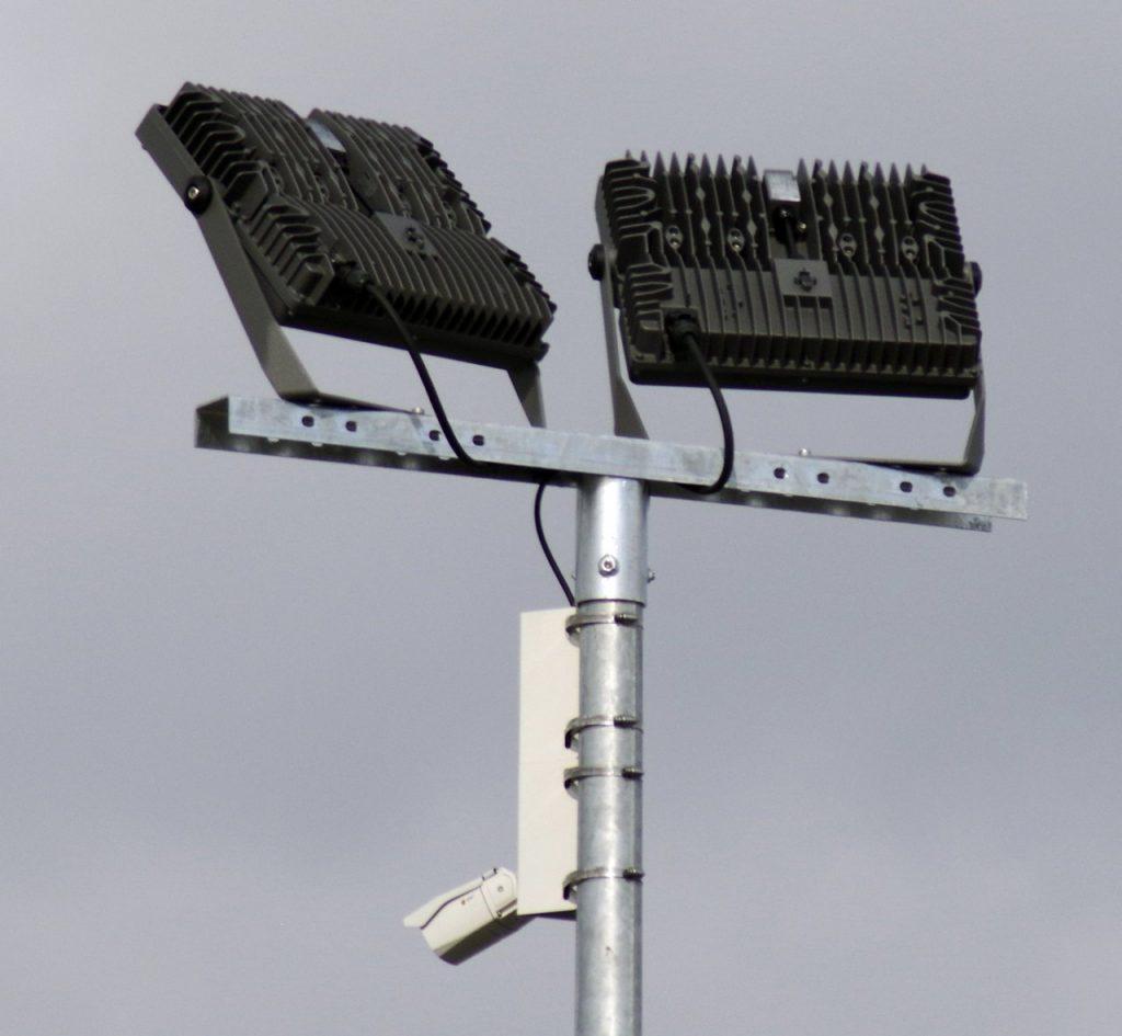 LED-Beleuchtung inkl Videoüberwachung